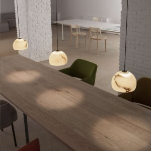 luminaire en suspension Neil de Carpyen Barcelona, disponible chez l'Atelier Marceau.