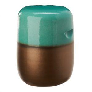 Stool pill green gradient