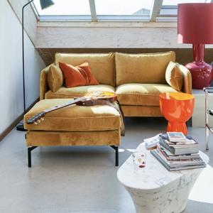 Sofa PPno.2 velvet gold - pols potten