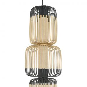 luminaire suspension bamboo light 4