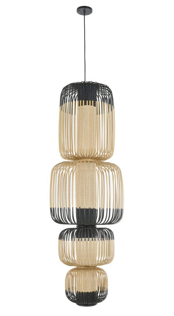 luminaire suspension bamboo light 4