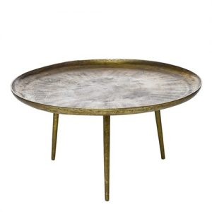 coffee table antique brass - Pols Potten