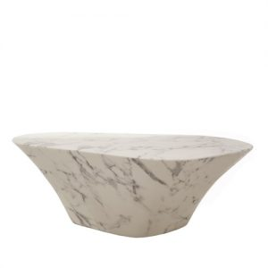 coffee table oval marble - pols potten