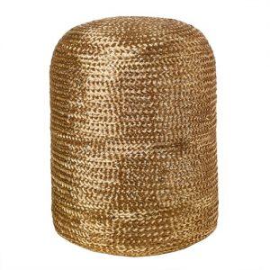 Stool pill Woven Gold